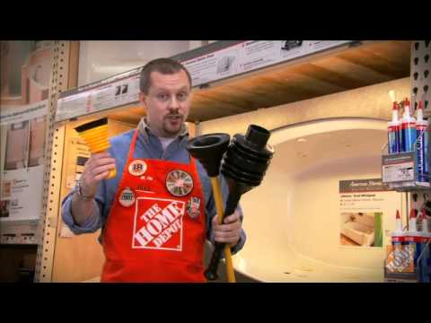 How to Unclog a Tub Drain - The Home Depot