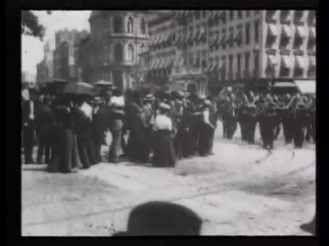 New York police parade, June 1st, 1899