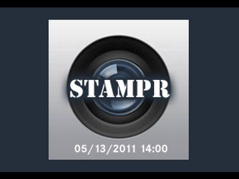 Stampr - Add Time Stamps to Your Photos on iPhone & iPod Touch