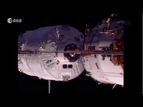 ATV-3 launch & docking video highlight