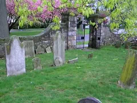 A Walk in Historic Fairfield cemetery in Connecticut