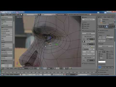 Johnny Blender 2.0 - Part 4 - Topology and Sculpt Tools