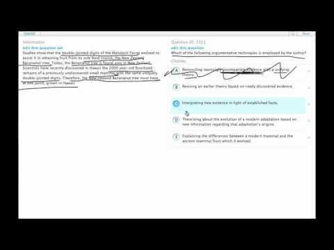 Grockit GMAT Verbal - Critical Reasoning: Question 3321