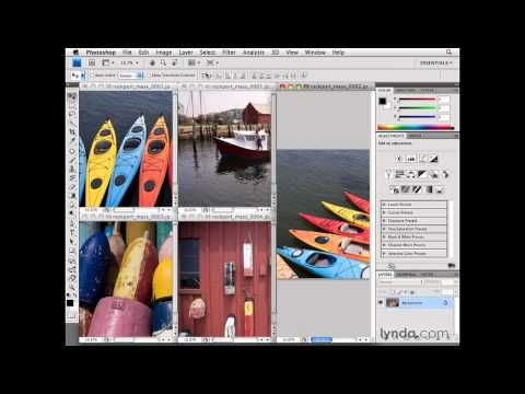 Photoshop: New ways of arranging documents | lynda.com