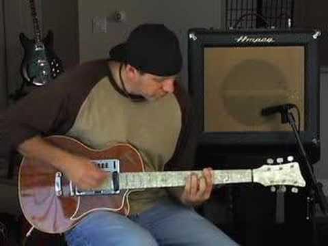 Gitar reviews Goya electric guitar & Ampeg Reverberocket amp