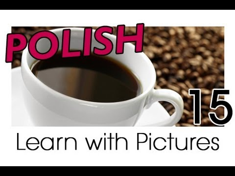 Learn Polish with Pictures - Quenching your Thirst
