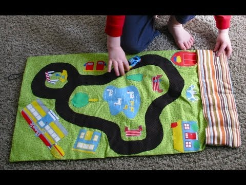 On-the-Go Car Roll: Car Mat Tutorial