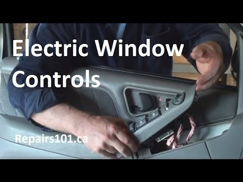 Auto: Electric Window Controls