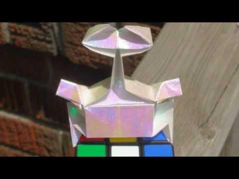 Origami Daily - 360: Wall - E (Disney Pixar) - TCGames [HD]