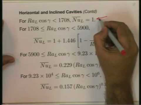 Lecture - 24 Natural Convection - 3