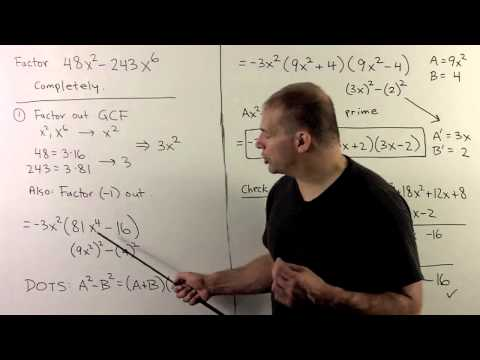 BCA4.5.X. Factoring Example: DO2S x 2