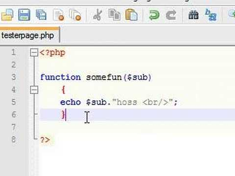 PHP Tutorial - 16 - Paramenters in Functions