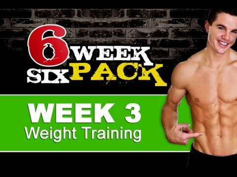 Extreme Full Body Home Workout (6 Week Six Pack - Week 3 )