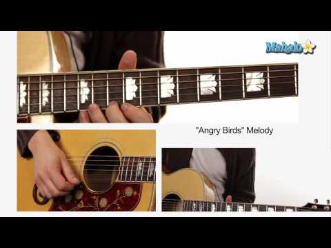"How to Play ""Angry Birds"" A Section on Guitar Part 3"