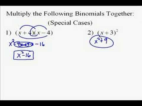 A110.4 Multiplying Polynomials Special Cases
