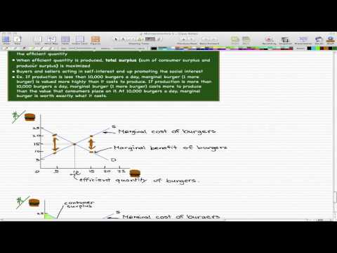 Microeconomics - 72: Efficiency of Competitive Equilibrium Cont.