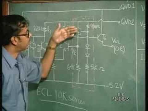 Lecture - 19 Quantitative analysis of ECL 10k Series gates