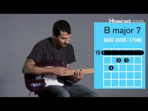 How to Play Guitar: Beginners / Barre Chords: B Major 7