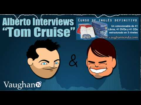 Alberto Alonso Interviews Tom Cruise