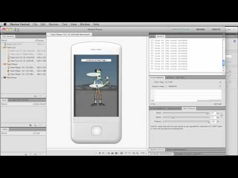 Part2: Flash CS5 Tutorial on Actionscript 3 Touch Events for Mobile or Touch-Enabled Devices