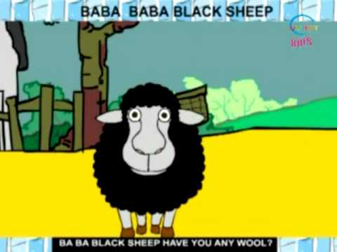 Rhymes and Alphabet - Baba Baba Black Sheep - Creative Learning for Kids