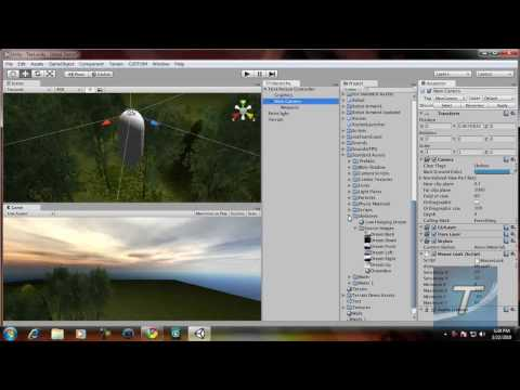 Create a FPS Game in Unity 3D #2 - Adding Skyboxes and Weapons