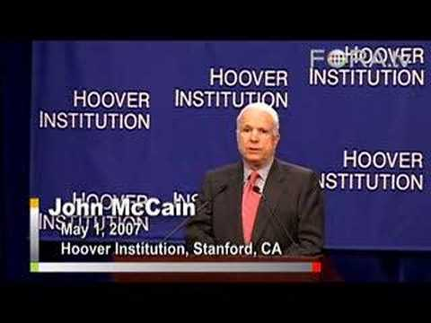 John McCain - Envisioning a New U.S. Foreign Policy