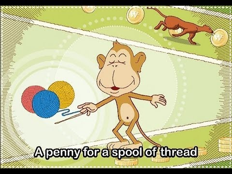 Muffin Songs - Pop! Goes The Weasel   | nursery rhymes & children songs with lyrics | muffin songs