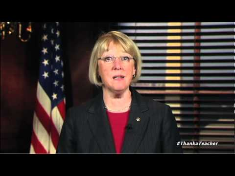 Senator Patty Murray Thanks Teachers