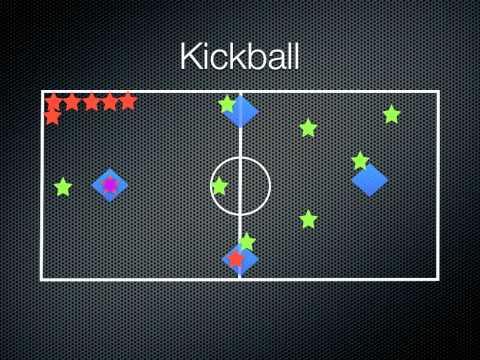 P.E. Games - Kickball