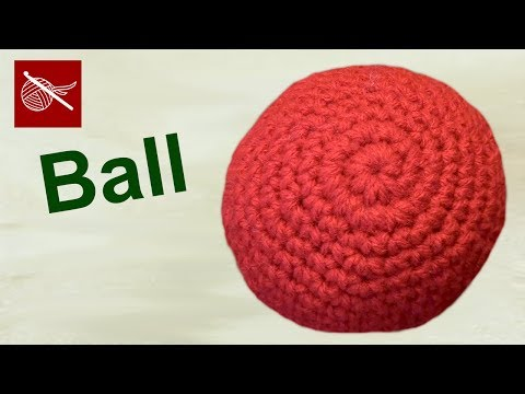 Crochet Geek - How to Make a Crochet Ball - Amigurumi