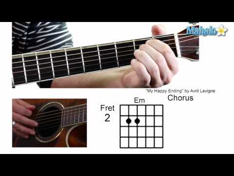"How to Play ""My Happy Ending"" by Avril Lavigne on Guitar"