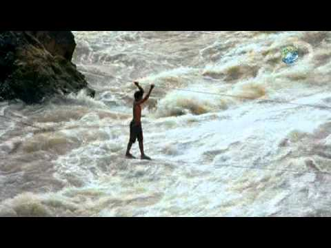 Human Planet - Hanging On For Dear Life | Rivers and Oceans