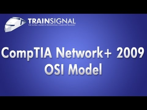 CompTIA Network+ 2009 Training - OSI Model