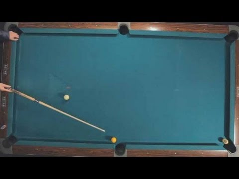Pool Trick Shots / Intermediate Shots: Walk the Dog