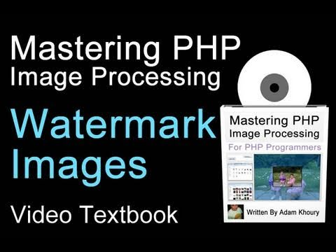 PHP Image Watermark Function Tutorial How To Apply Watermark On the Fly