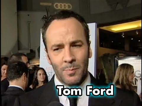 Director Tom Ford on the Red Carpet for A SINGLE MAN