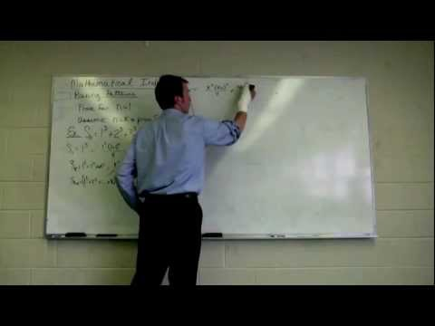 Mathematical Induction Example 2