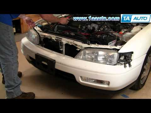 How To Install Replace Headlight Honda Accord 94-97 1AAuto.com