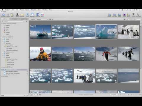 Aperture 3 Tutorials : 6.6 - Showcasing Work - Adding Photos to Your MobileMe Gallery