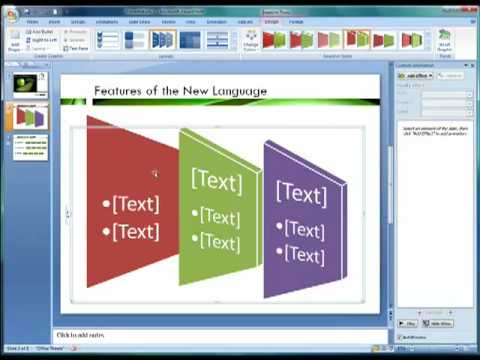 PowerPoint 2007 Tutorial #5: Secrets of Professional Presentations