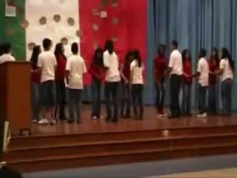 Students Merengue Performance 2