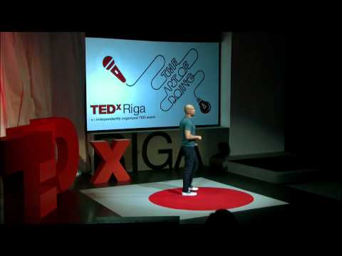 Who Is Coding Who?: Gustavs Butelis (Gustavo) at TEDxRiga