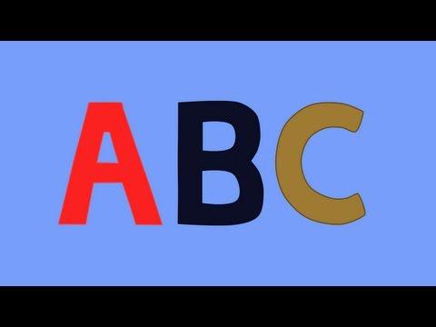 It's the Alphabet