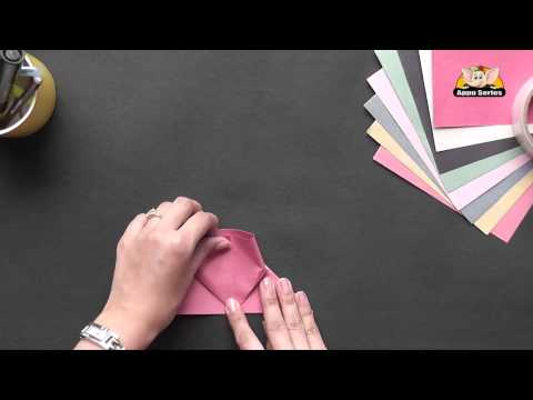 Origami - Make a Heart Bookmark (HD)