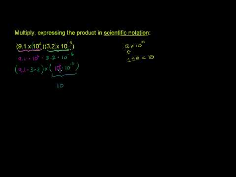 Scientific Notation Example 2