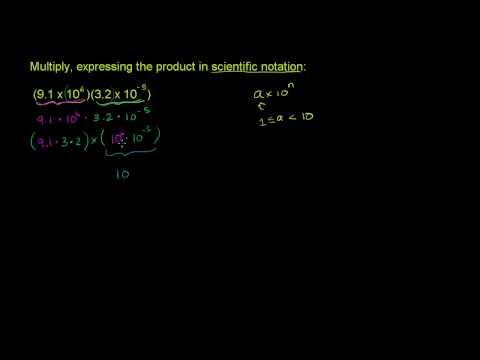 Scientific Notation Example 2