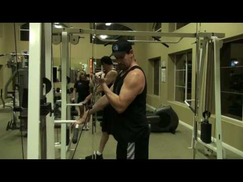 Bicep Curl, Single Arm w D-Ring