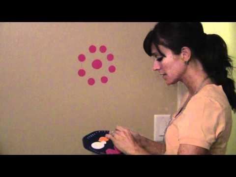 Polka Dot Wall Painting
