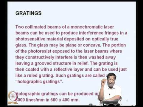 Mod-02 Lec-08 Ultraviolet and Visible Spectrophotometry -4 iv. Instrumentation